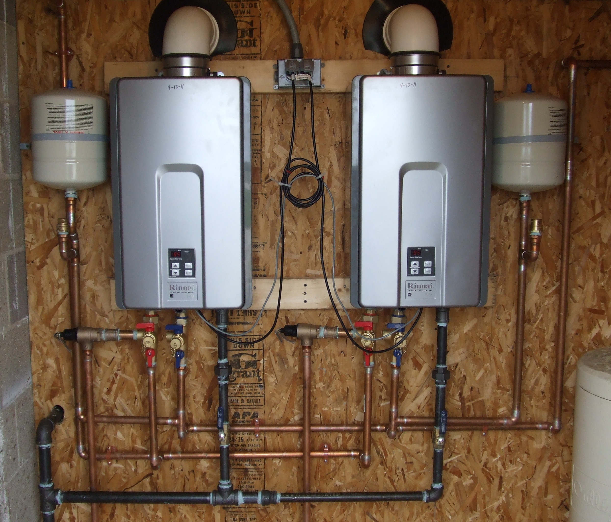 tankless water heaters Pleasanton CA
