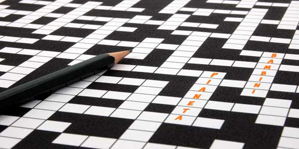 Playing crossword puzzle